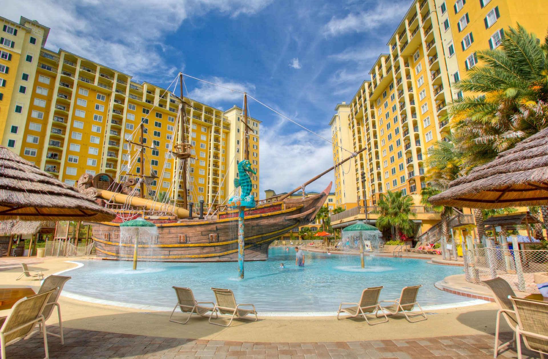 Pool at Lake Buena Vista Resort in Orlando