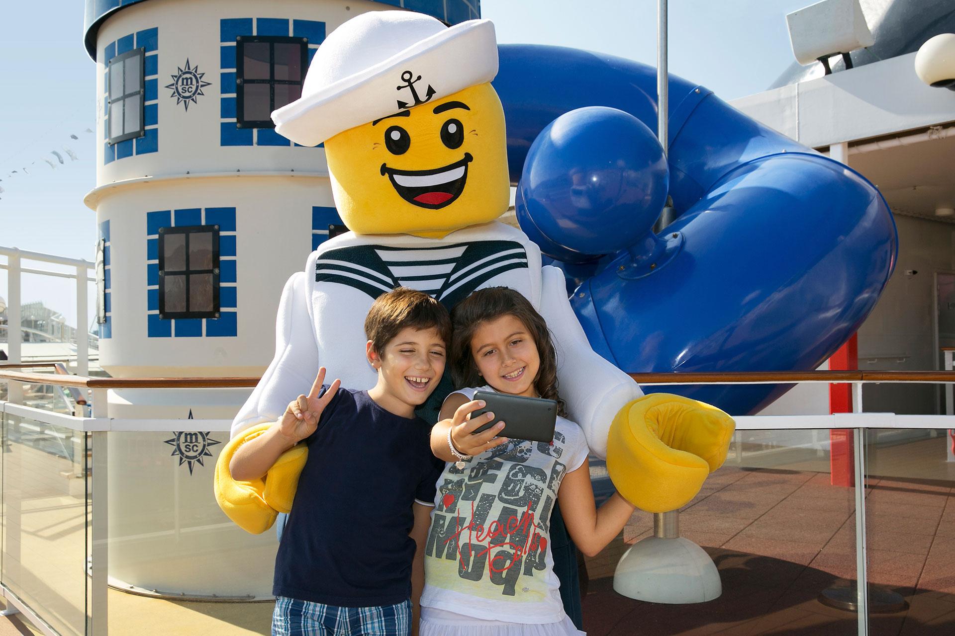 Kids on MSC Cruise; Courtesy of MSC Cruises