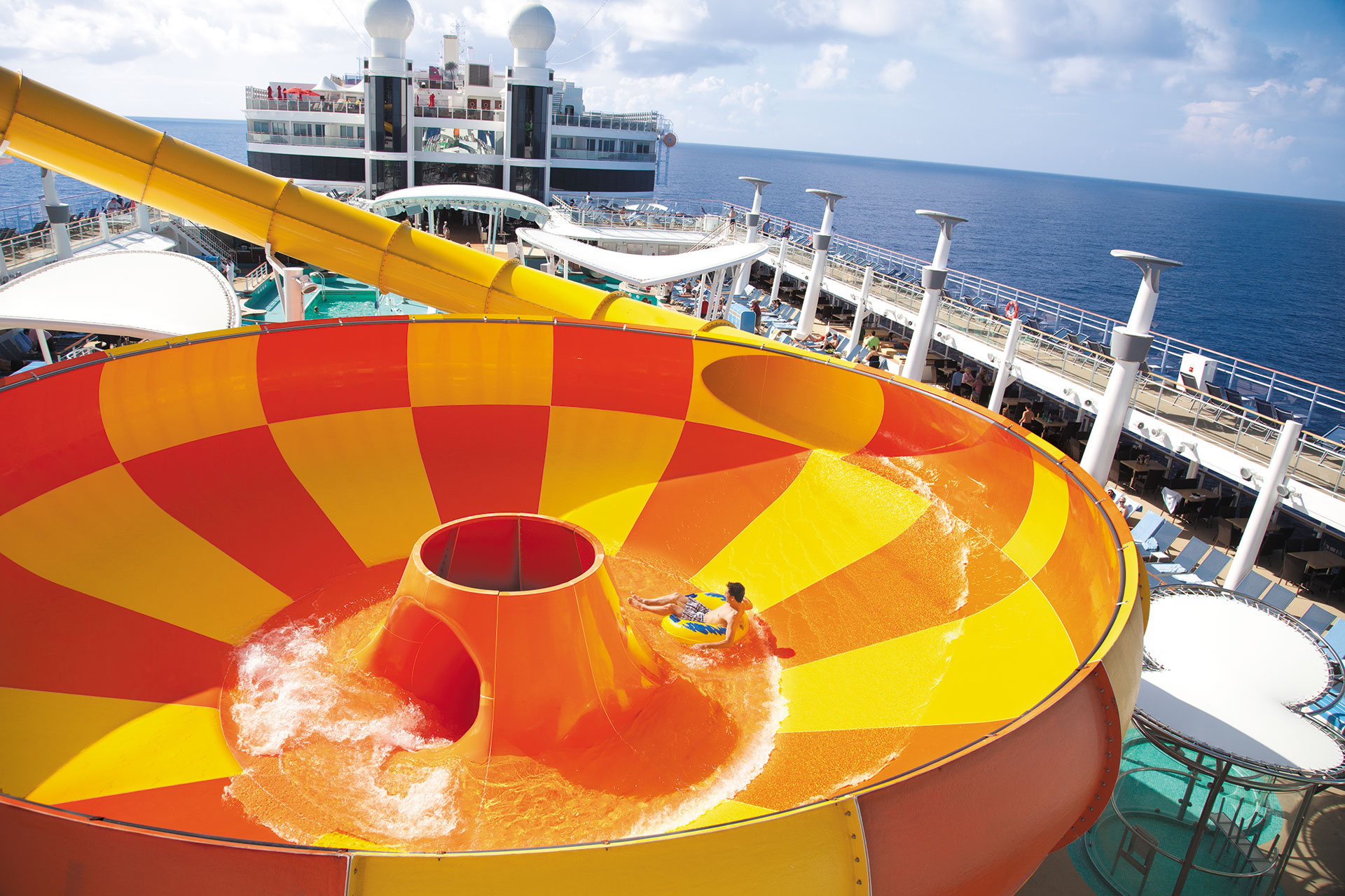 Water Park on Norwegian Cruise Line