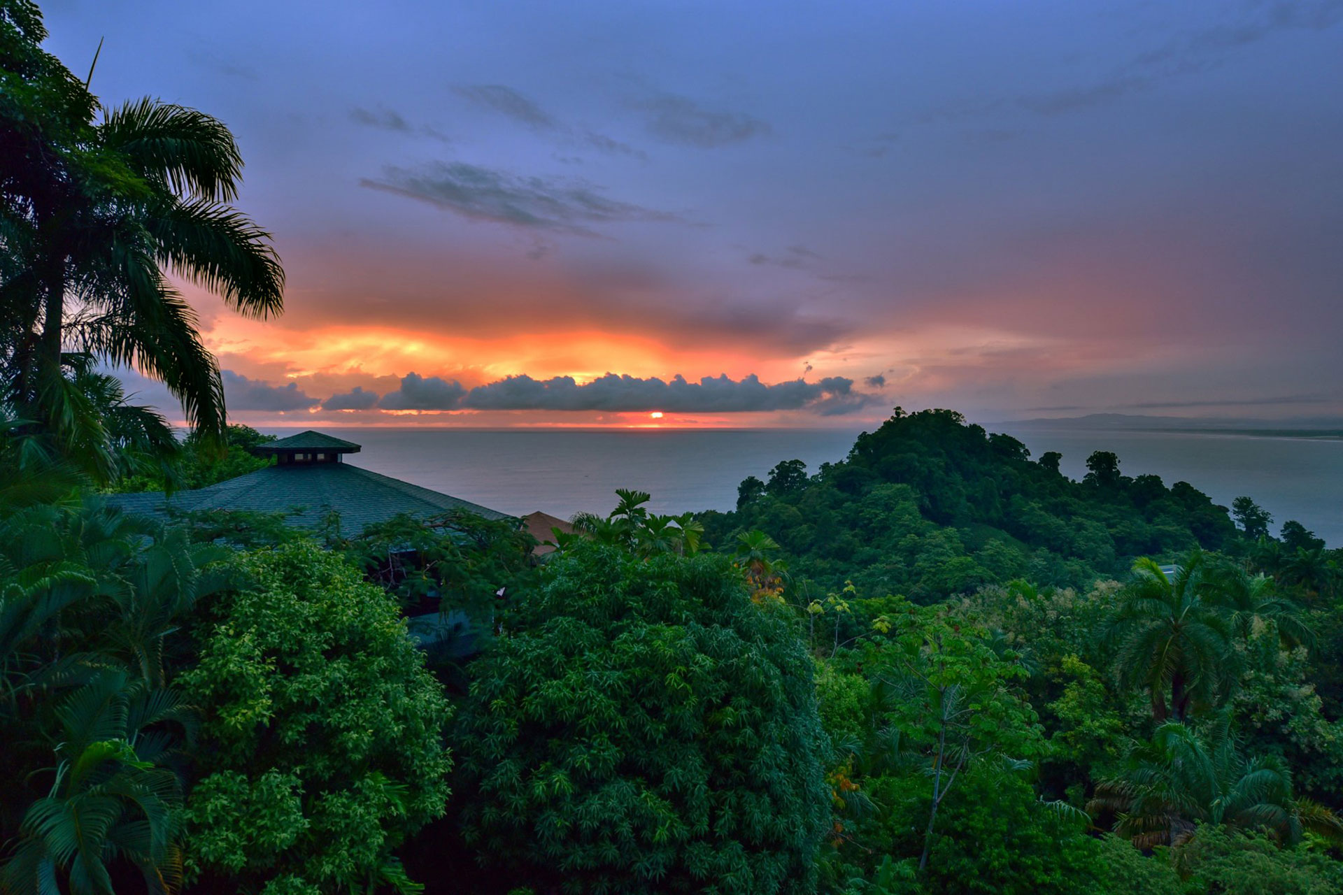 View from Tulemar Buena Vista Luxury Villas in Costa Rica; Courtesy of Tulemar Buena Vista Luxury Villas