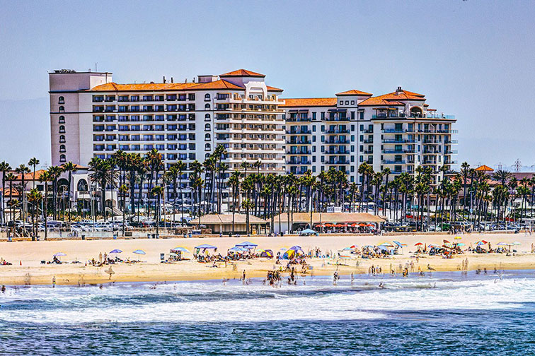 The Waterfront Beach Resort, a Hilton Hotel in Huntington Beach, California