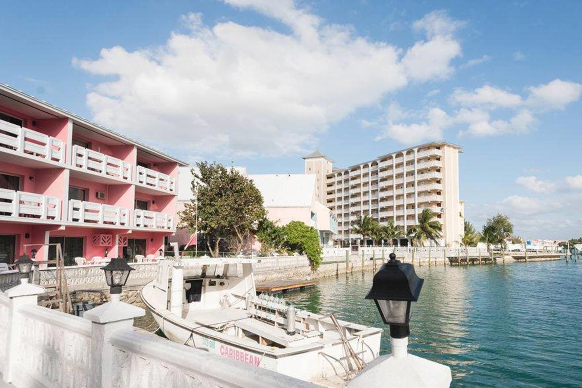 Bell Channel Inn on Grand Bahama Island; Photo Courtesy of Bell Channel Inn