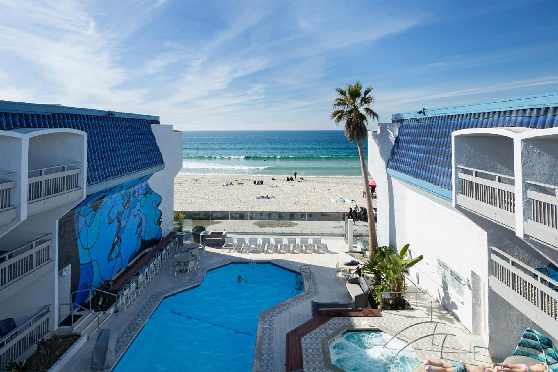 Blue Sea Beach Hotel, San Diego, California