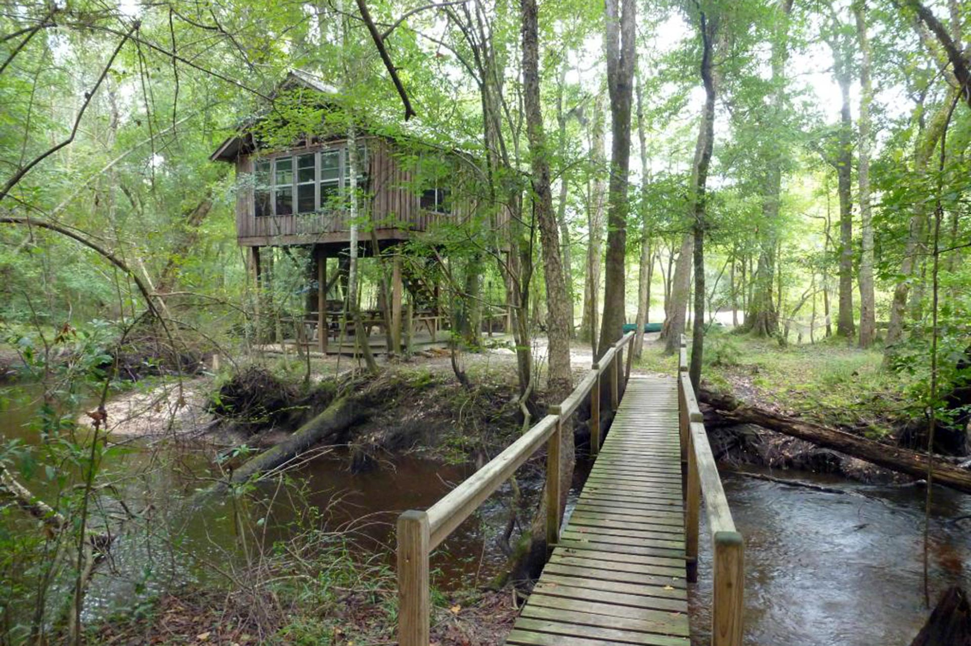 Edisto River Treehouses in South Carolina; Courtesy of TripAdvisor Traveler/Kristin S