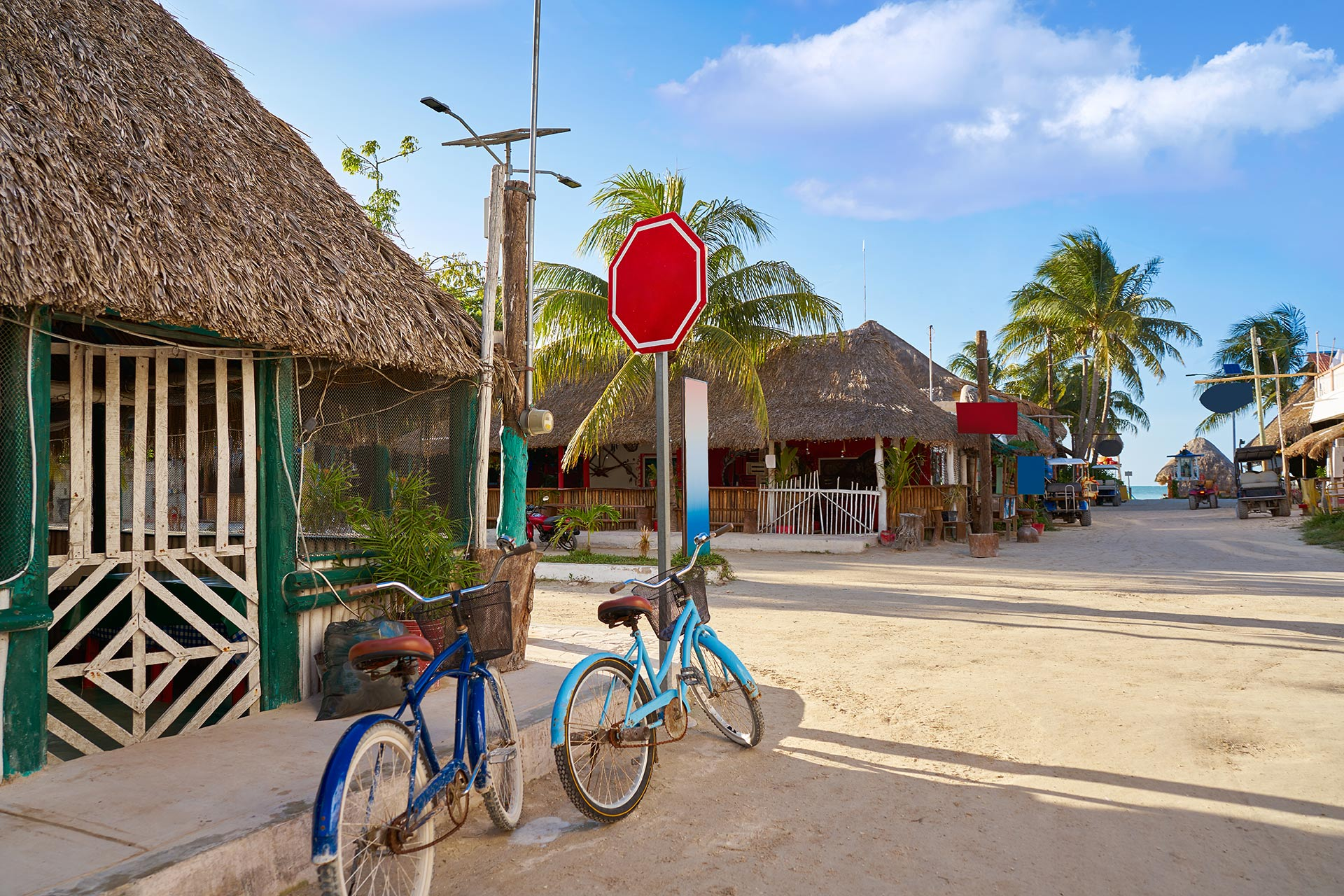 Isla Holbox on the fingertip of the Yucatan Peninsula just north of Cancun