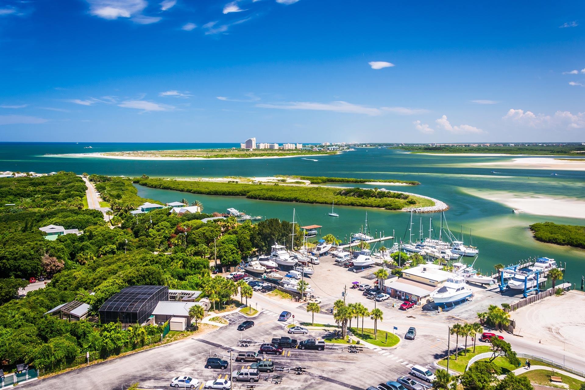 New Smyrna Beach in Florida