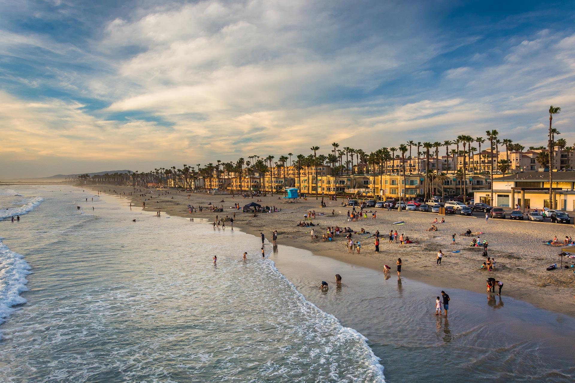 Oceanside, California.