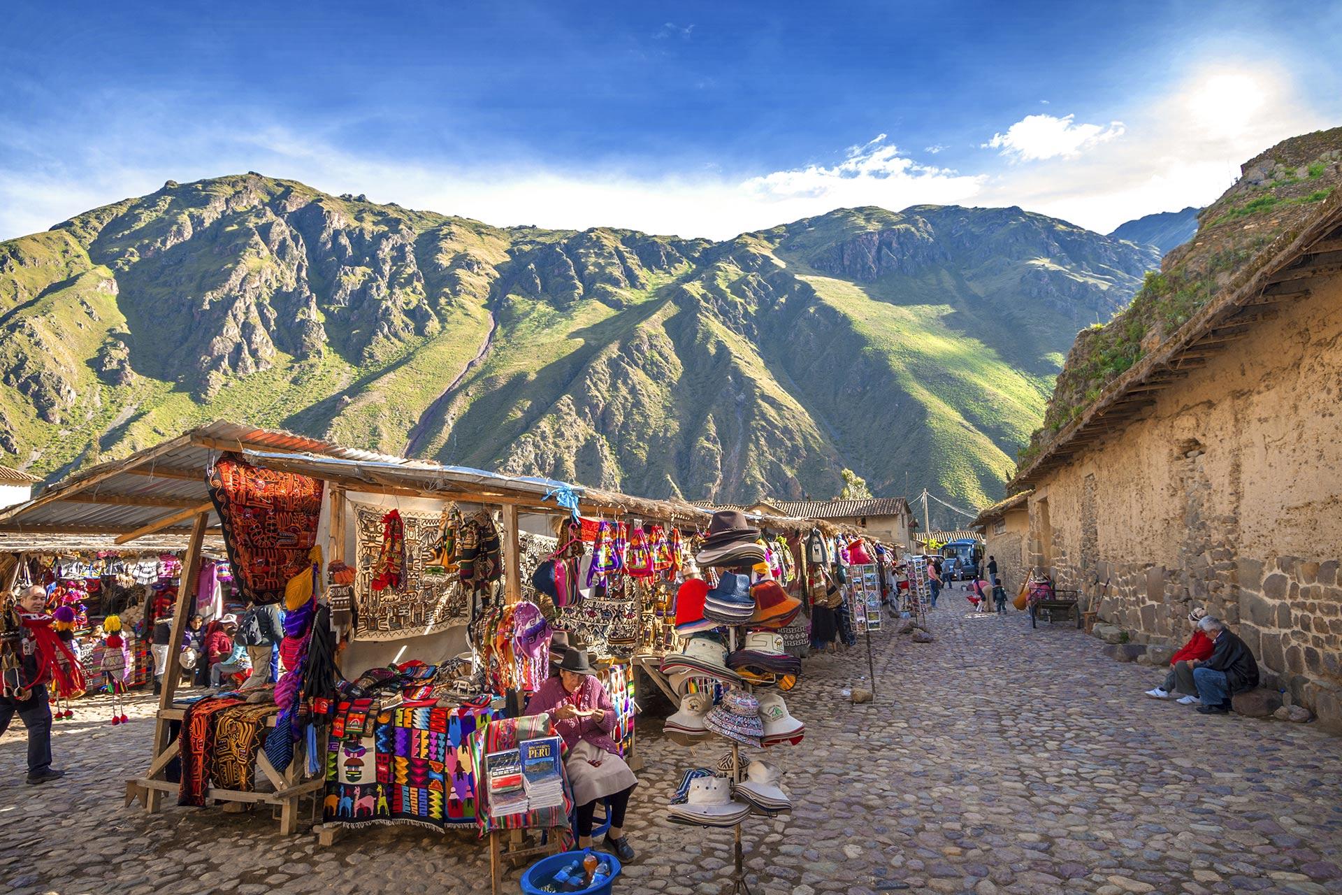 Ollantaytambo, Peru; Photo Courtesy of klublu/Shutterstock.com