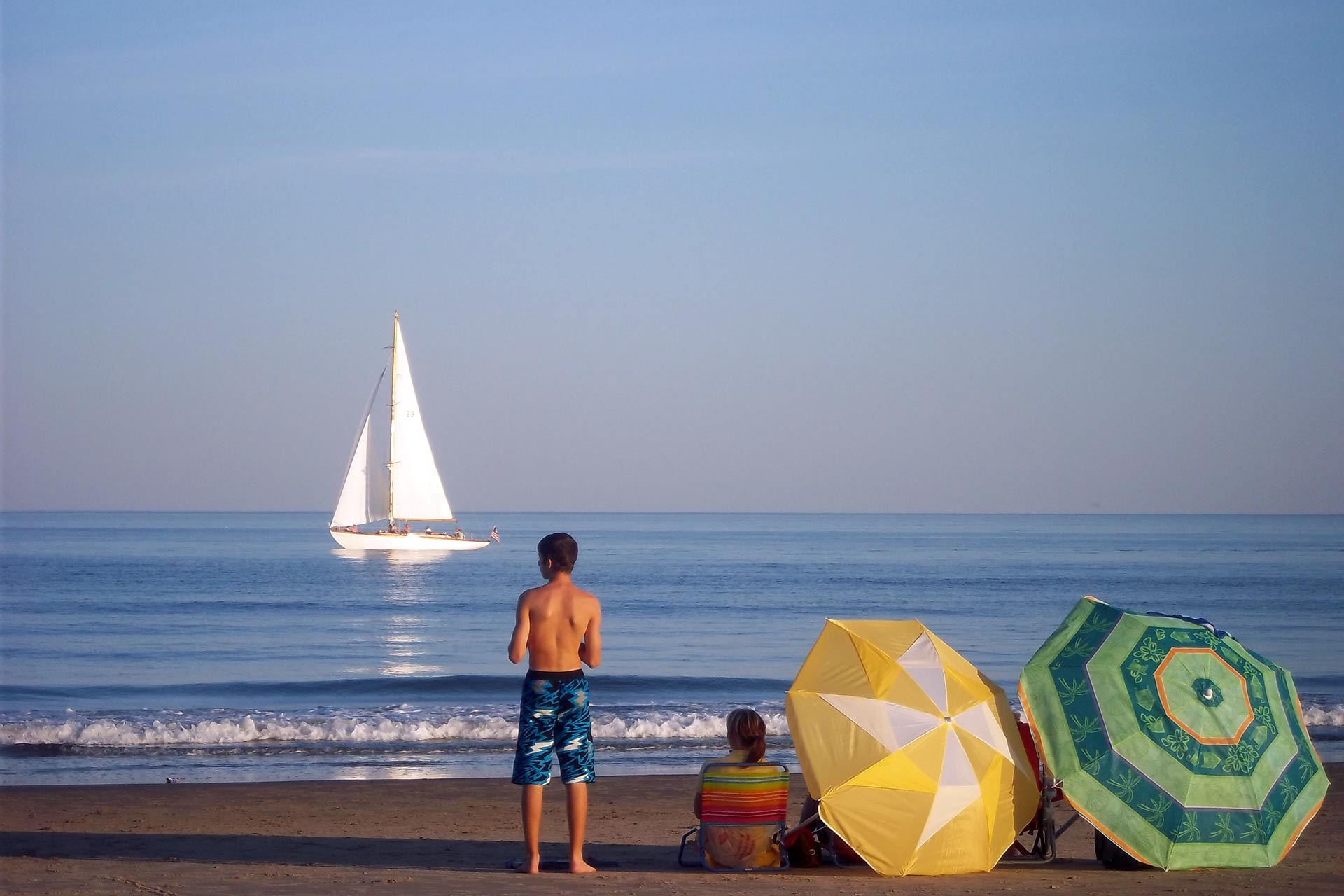 Wells Beach, Maine, USA