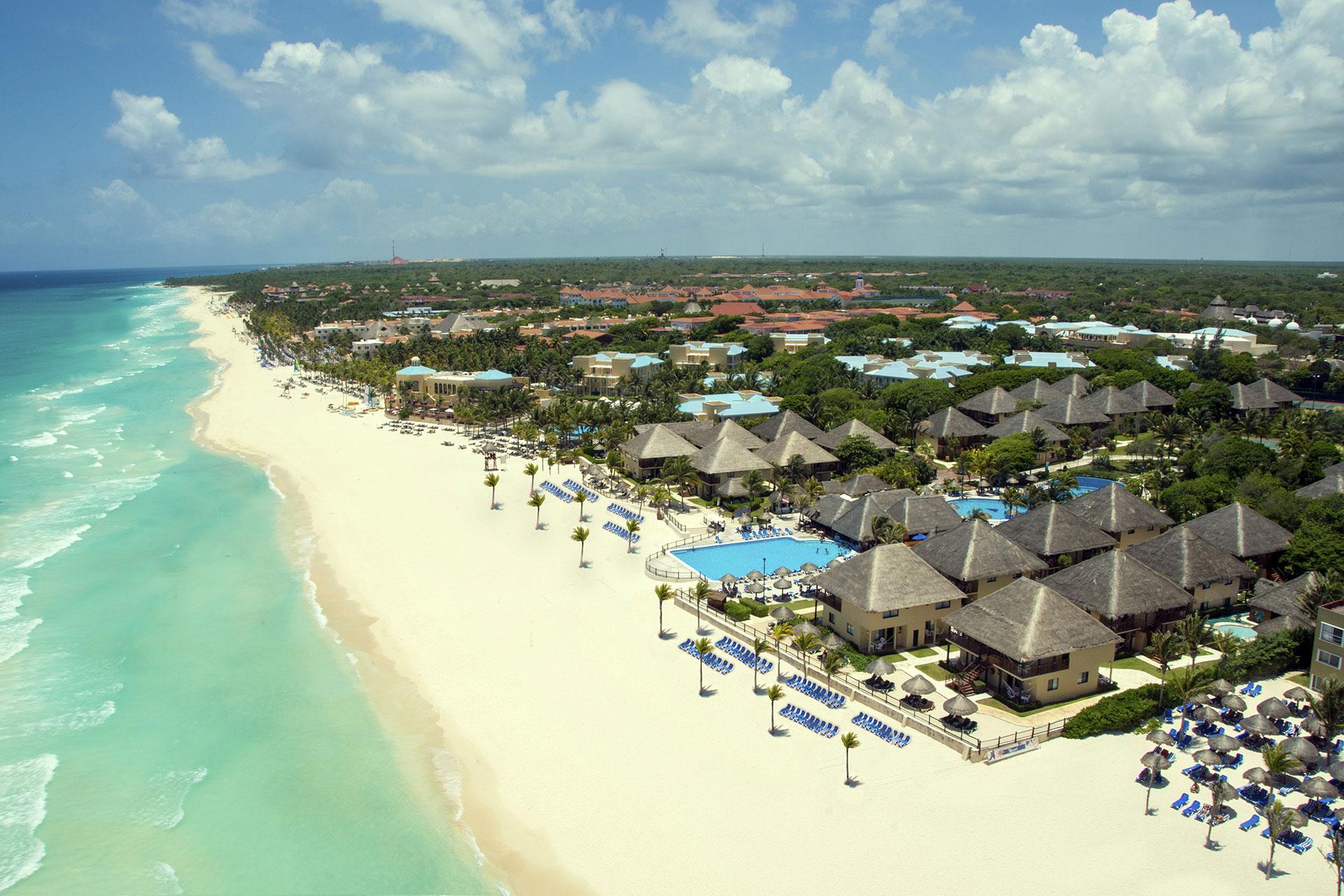 Aerial View of Allegro Playacar; Courtesy of Allegro Playacar