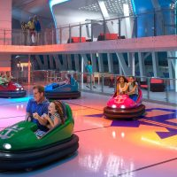 Bumper Cars at Sea; Courtesy of Royal Caribbean International