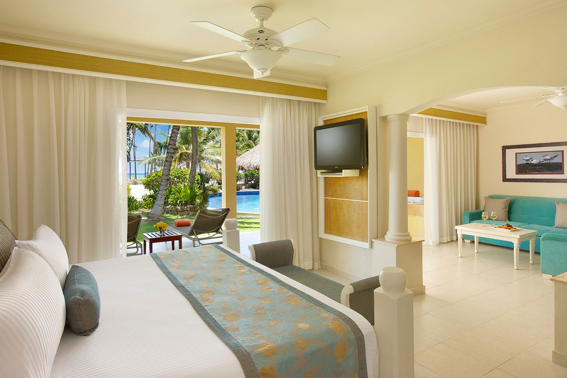 Suite at Dreams Punta Cana; Courtesy of Dreams Punta Cana