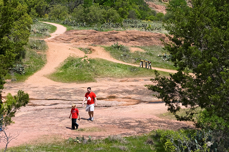 San Antonio, Texas Enchanted Rock; Courtesy of Visit San Antonio