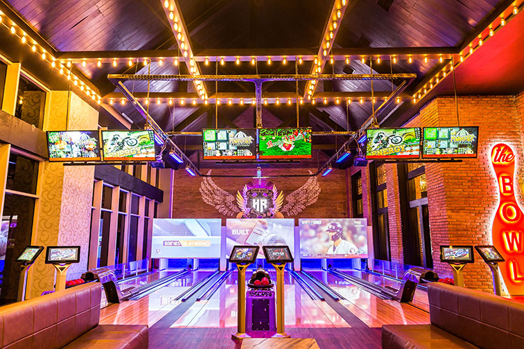 Bowling Alley at Hard Rock Hotel & Casino Punta Cana in Punta Cana, Dominican Republic