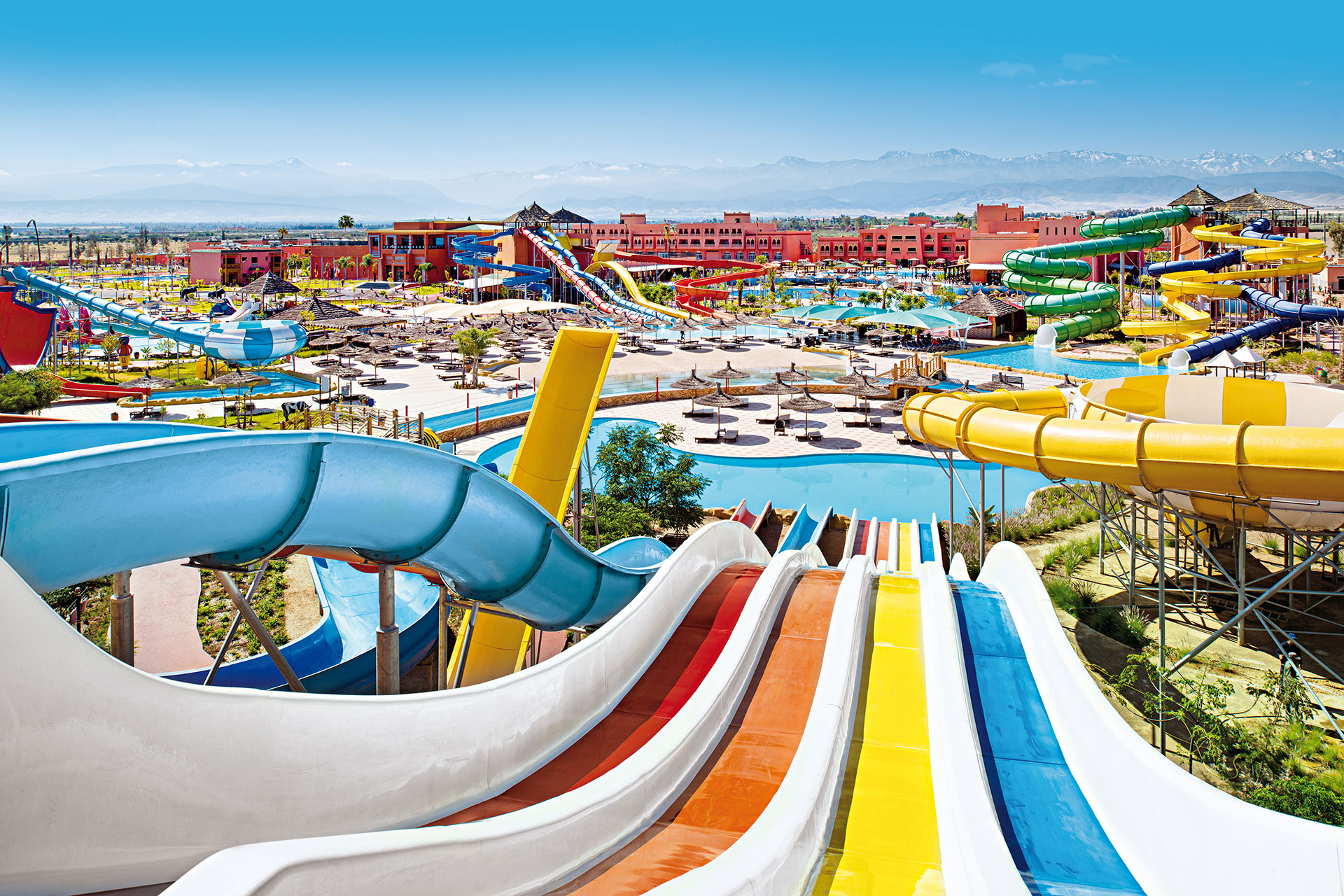 Water Park at Labranda Aqua Fun Club in Marrakesh; Courtesy of Labranda Aqua Fun Club