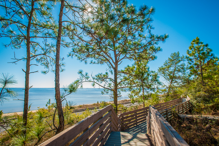 Pensacola, Florida Bay Bluffs Park; Courtesy of Visit Pensacola