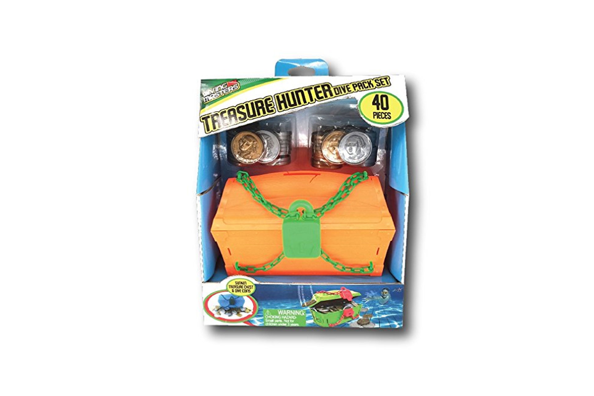 Prime Time Toys Diving Masters Treasure Chest Pool Diving Game; Courtesy of Amazon