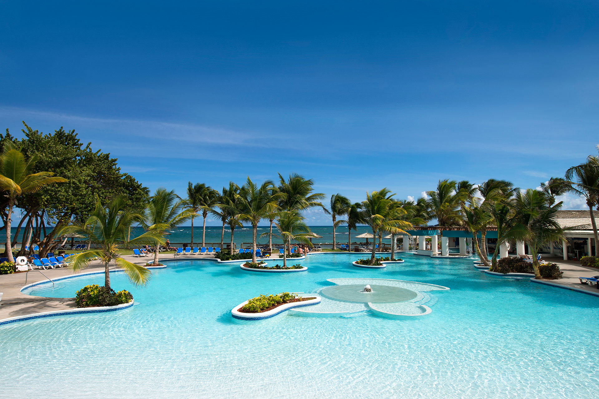 Pools at Coconut Bay Beach Resort & Spa; Courtesy of Coconut Bay Beach Resort & Spa