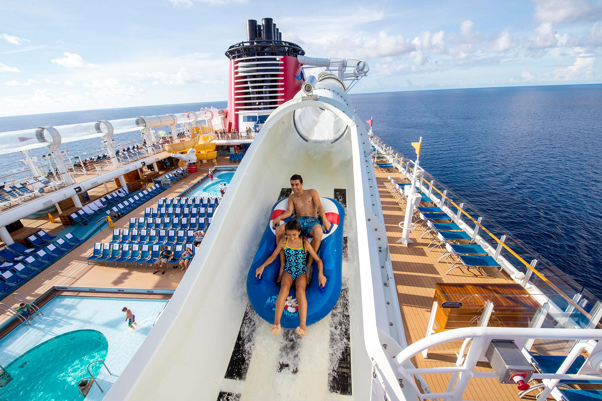AquaDuck on Disney Cruise Line's Dream and Fantasy