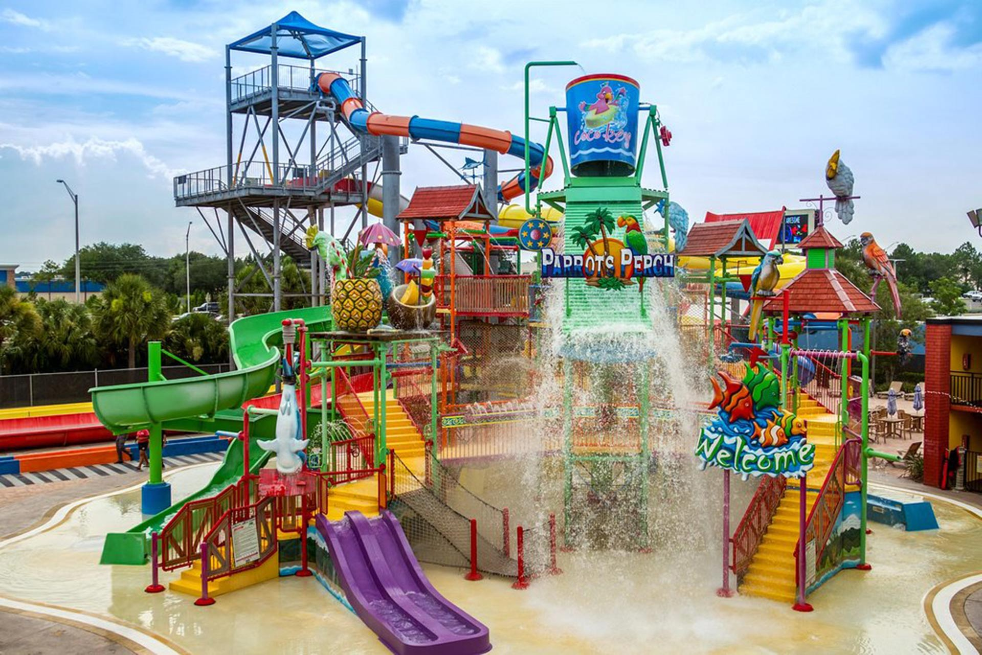Coco Key Hotel And Water Park Resort In Florida
