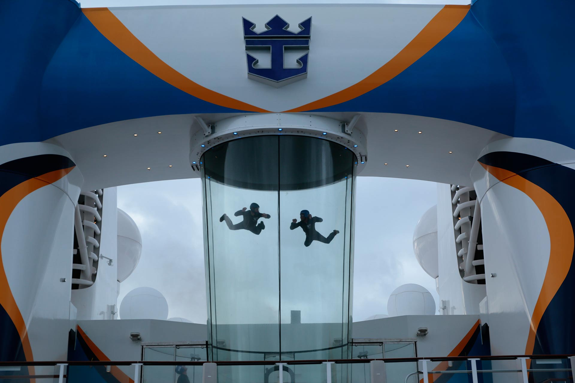 iFly on Royal Caribbean's Quantum and Anthem of the Seas