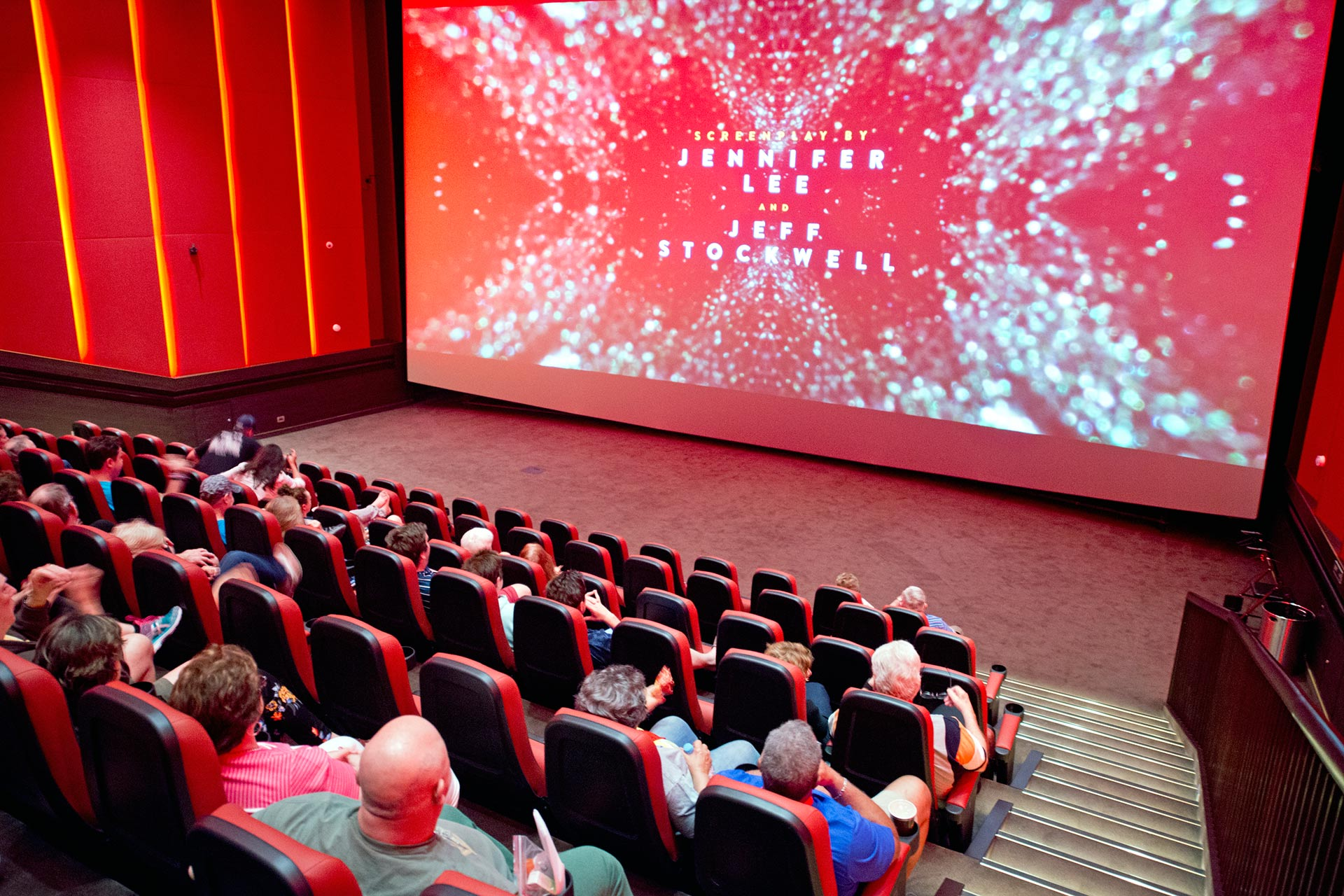 IMAX Theater on Carnival Horizon and Carnival Vista