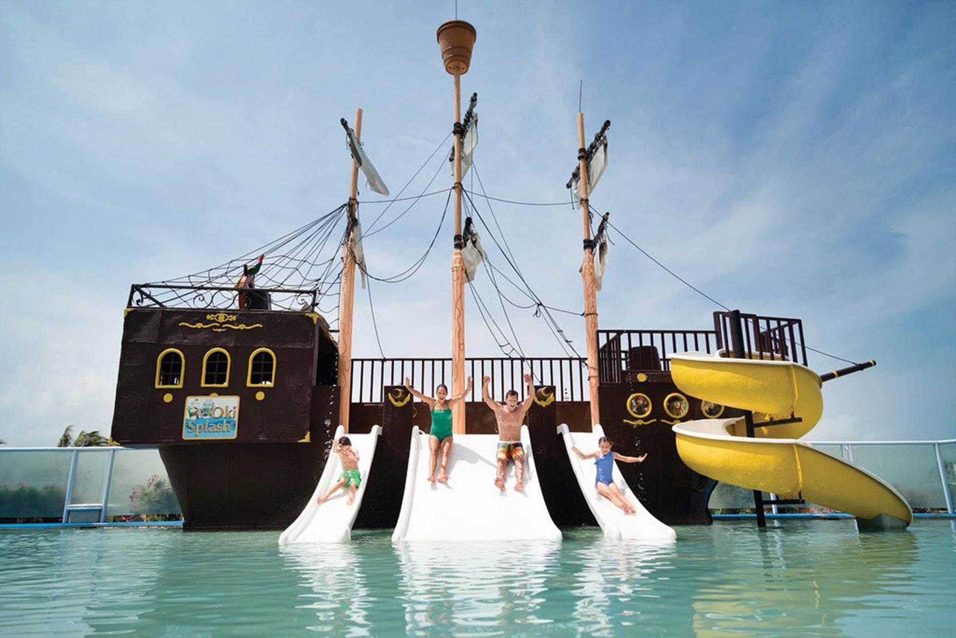The water park at Panama Jack Resorts Cancun