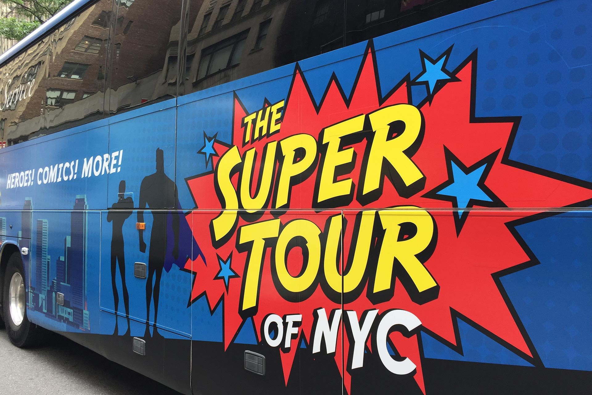 Superhero Movie Tour of New York