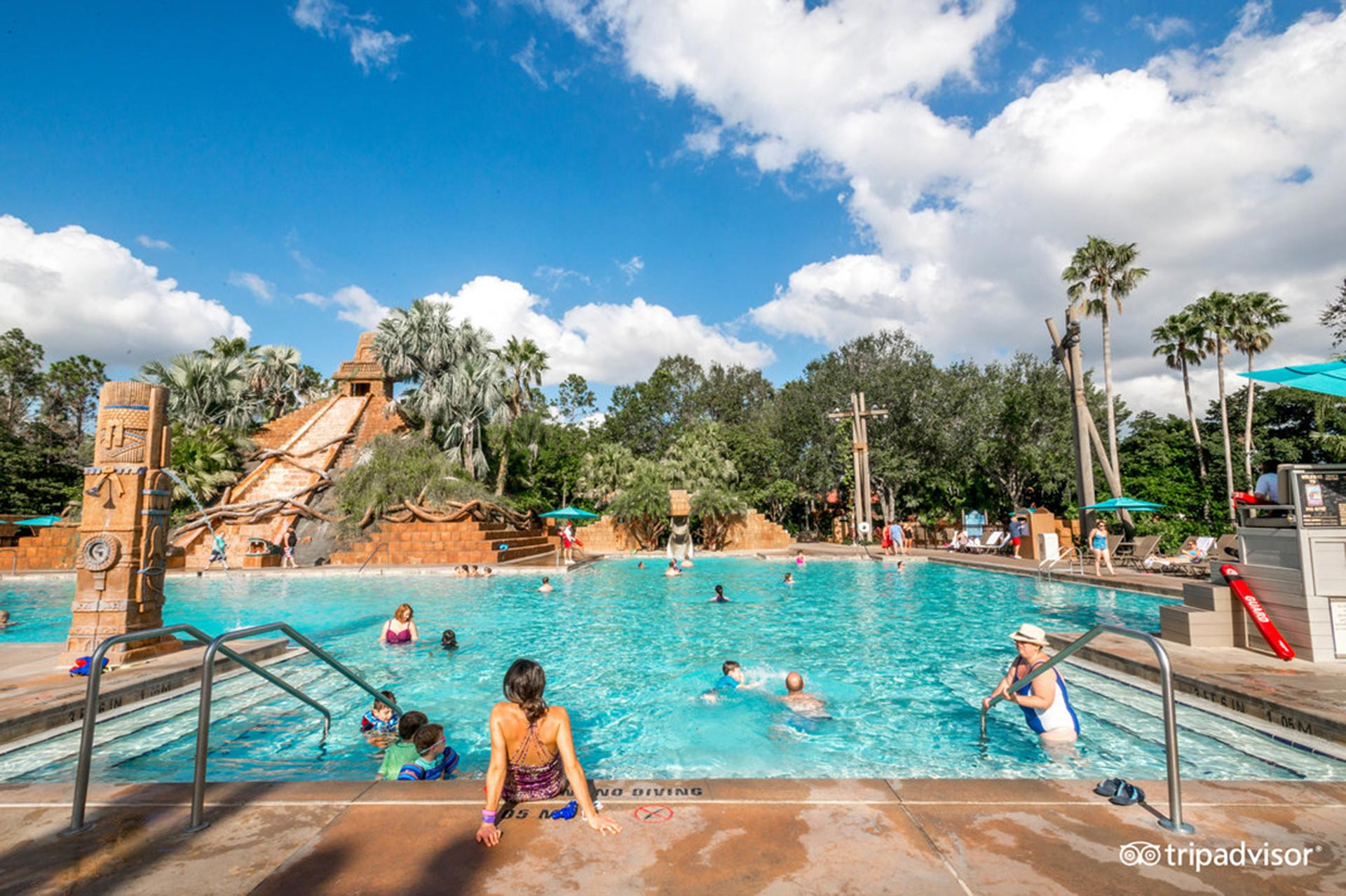 Lost City of Cibola Pool at Disney's Coronado Springs Resort