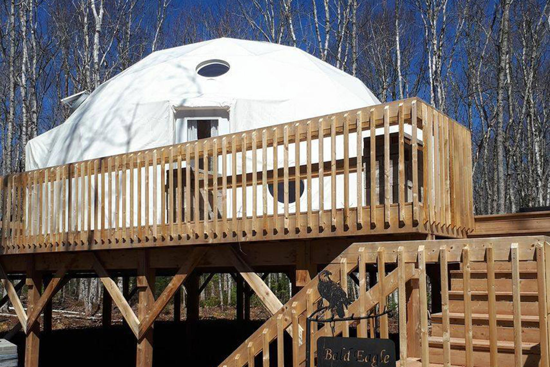 Treetop Haven in Mount Tyron, Prince Edward Island; Courtesy of Treetop Haven