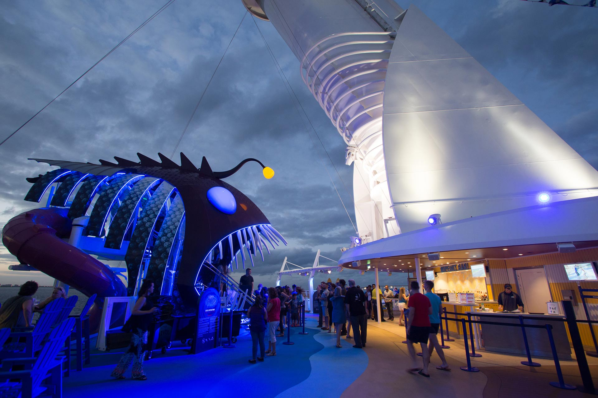 Ultimate Abyss on Royal Caribbean Symphony of the Seas