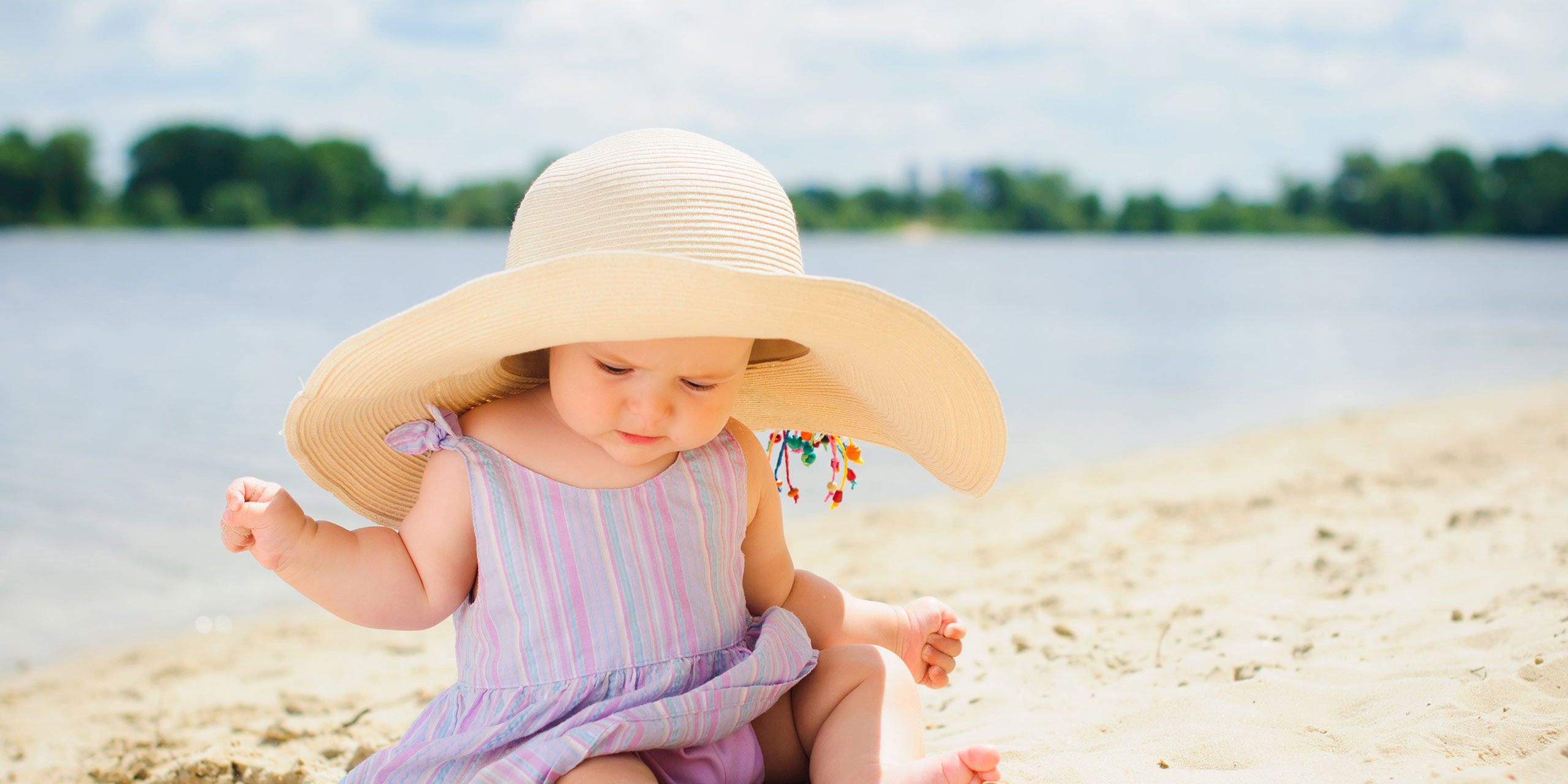 Baby in Wide-Brimmed Hat; Courtesy of Baby in Wide-Brimmed Hat; Courtesy of Max topchii/Shutterstock.com
