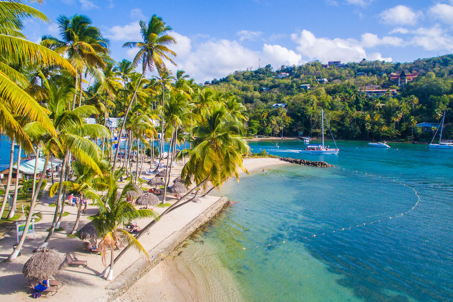 Marigot Bay Resort & Marina in St. Lucia