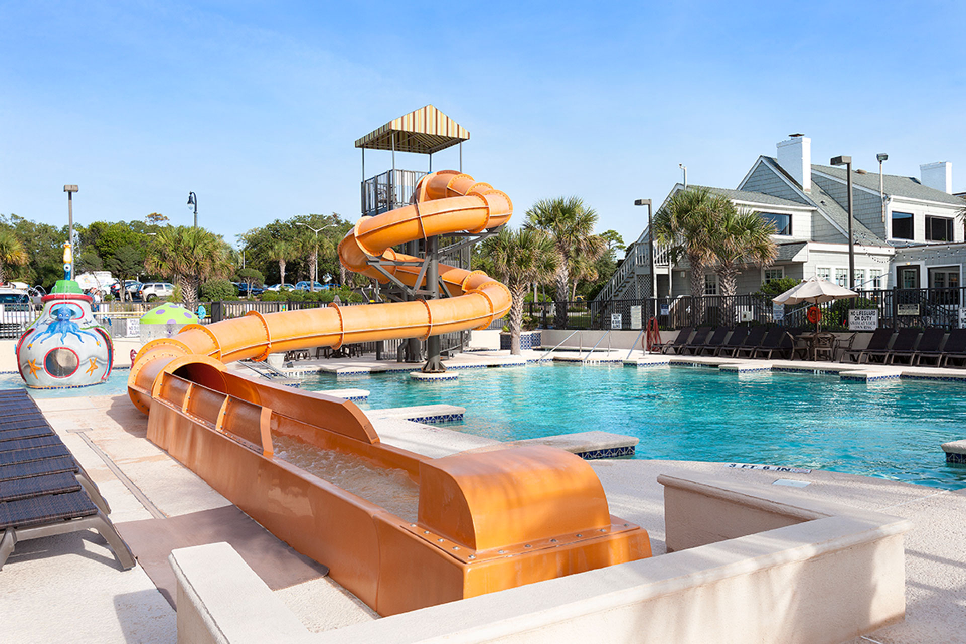 Water Park at Caribbean Resort and Villas in Myrtle Beach, SC