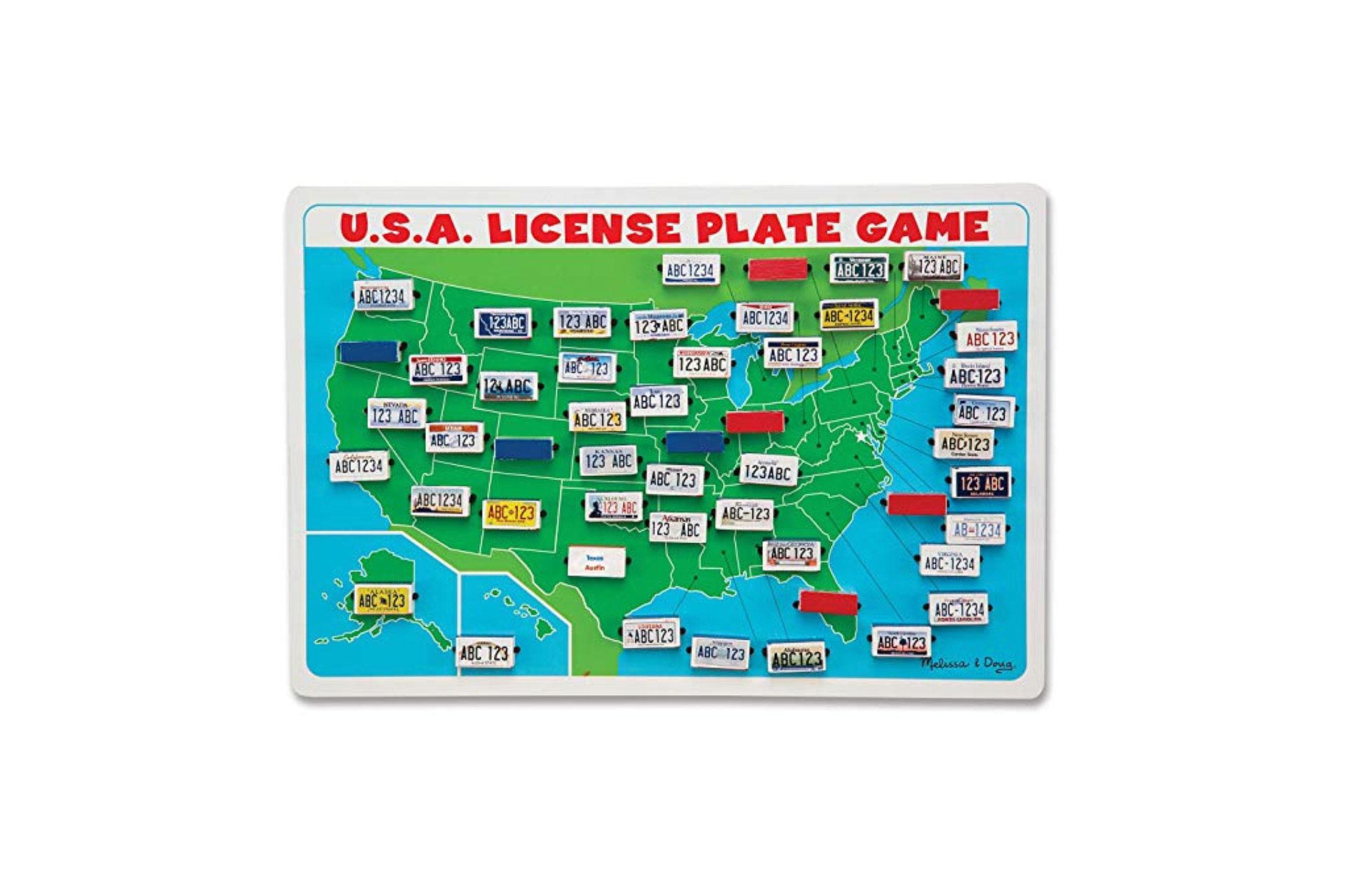 Melissa and Doug License Plate Game