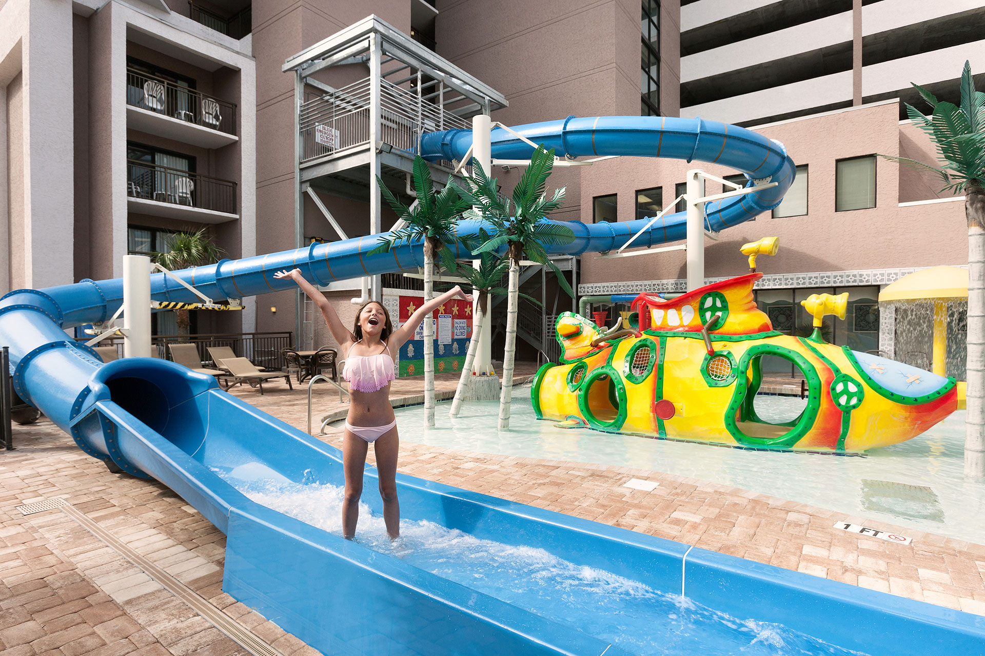 7 Best Hotels With Water Parks In Myrtle Beach 2019 Family