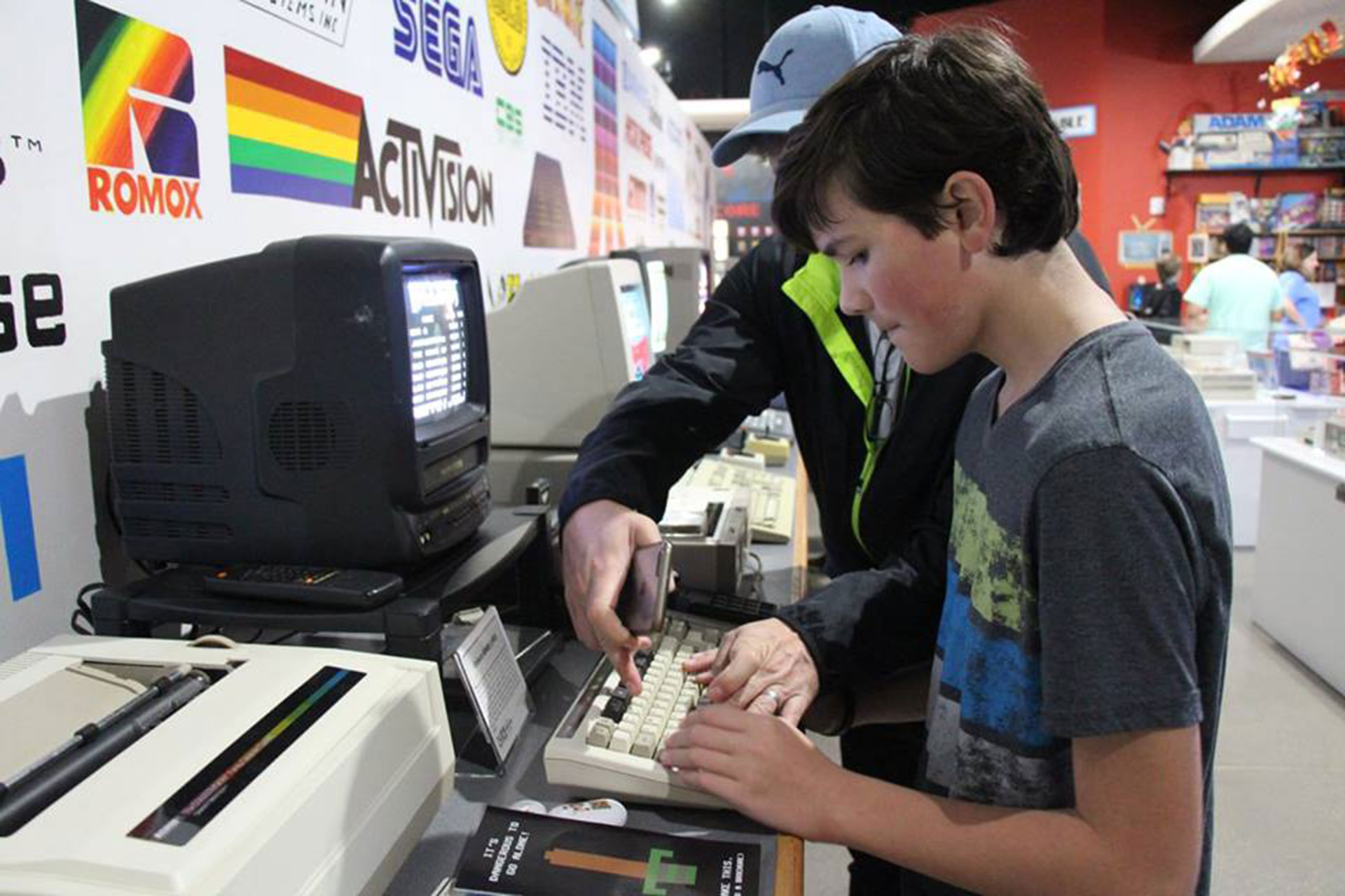 National Videogame Museum in Frisco