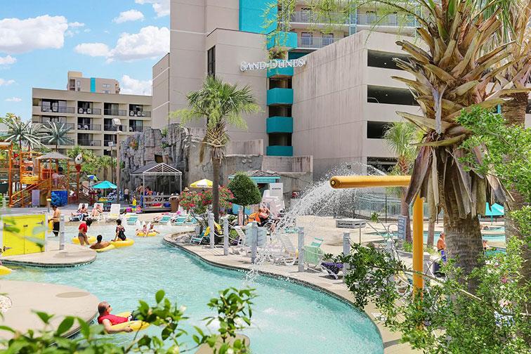 Water Park at Sand Dunes Resort in Myrtle Beach, SC