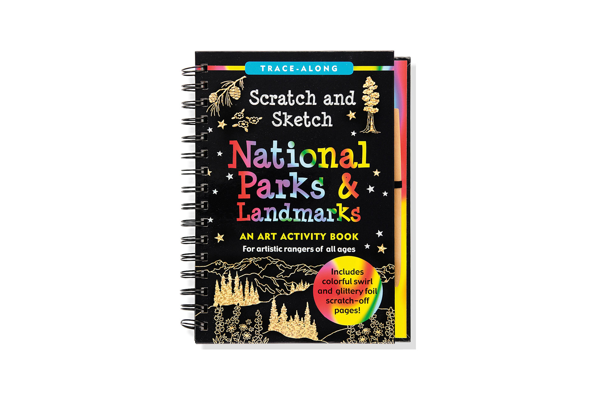 Scratch and Sketch: National Parks and Landmarks Book