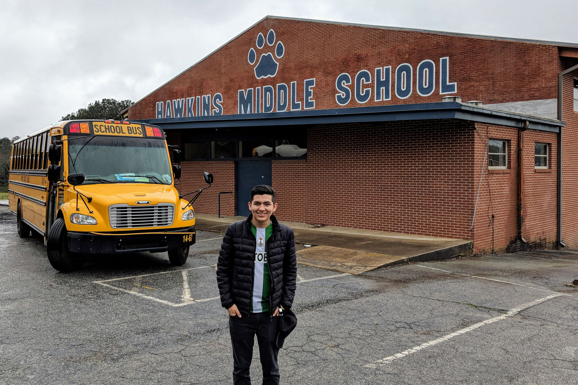 Hawkins Middle School with DTours in Atlanta