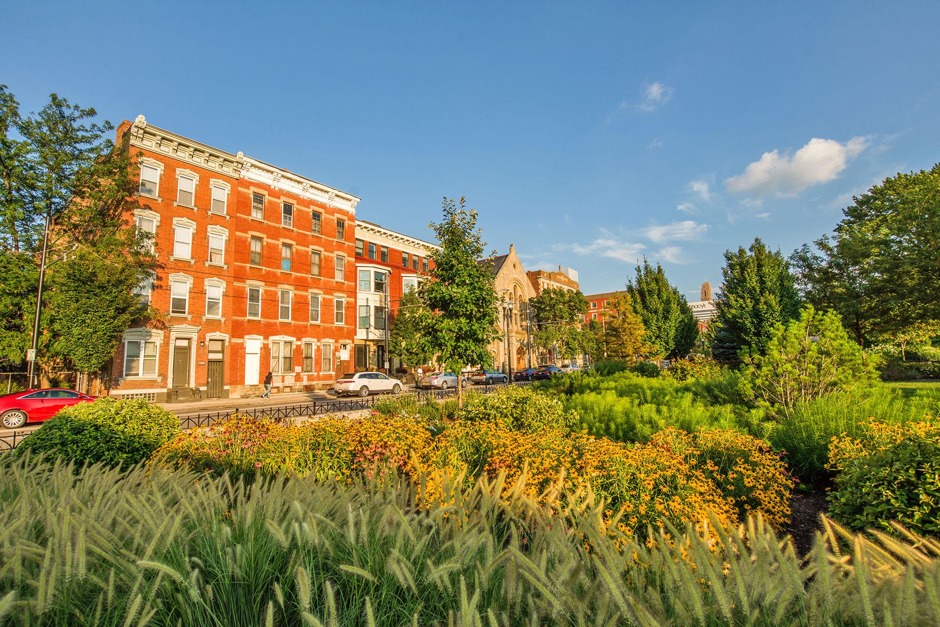 Washington Park in Cincinnati; Courtesy of Christian Hinkle/Shutterstock.com