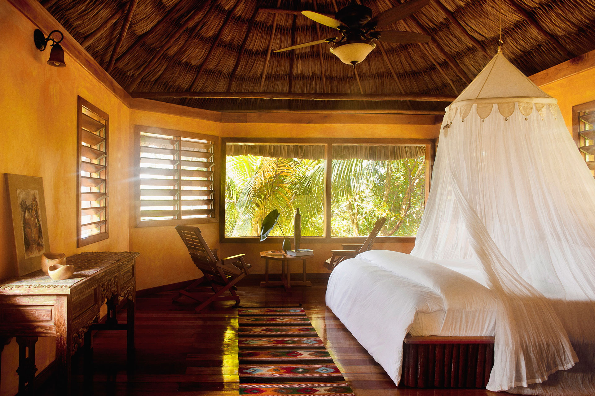 Room at Gaia Riverlodge in Belize