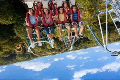 Theme Park Review - Riding Alpengeist at Busch Gardens ...