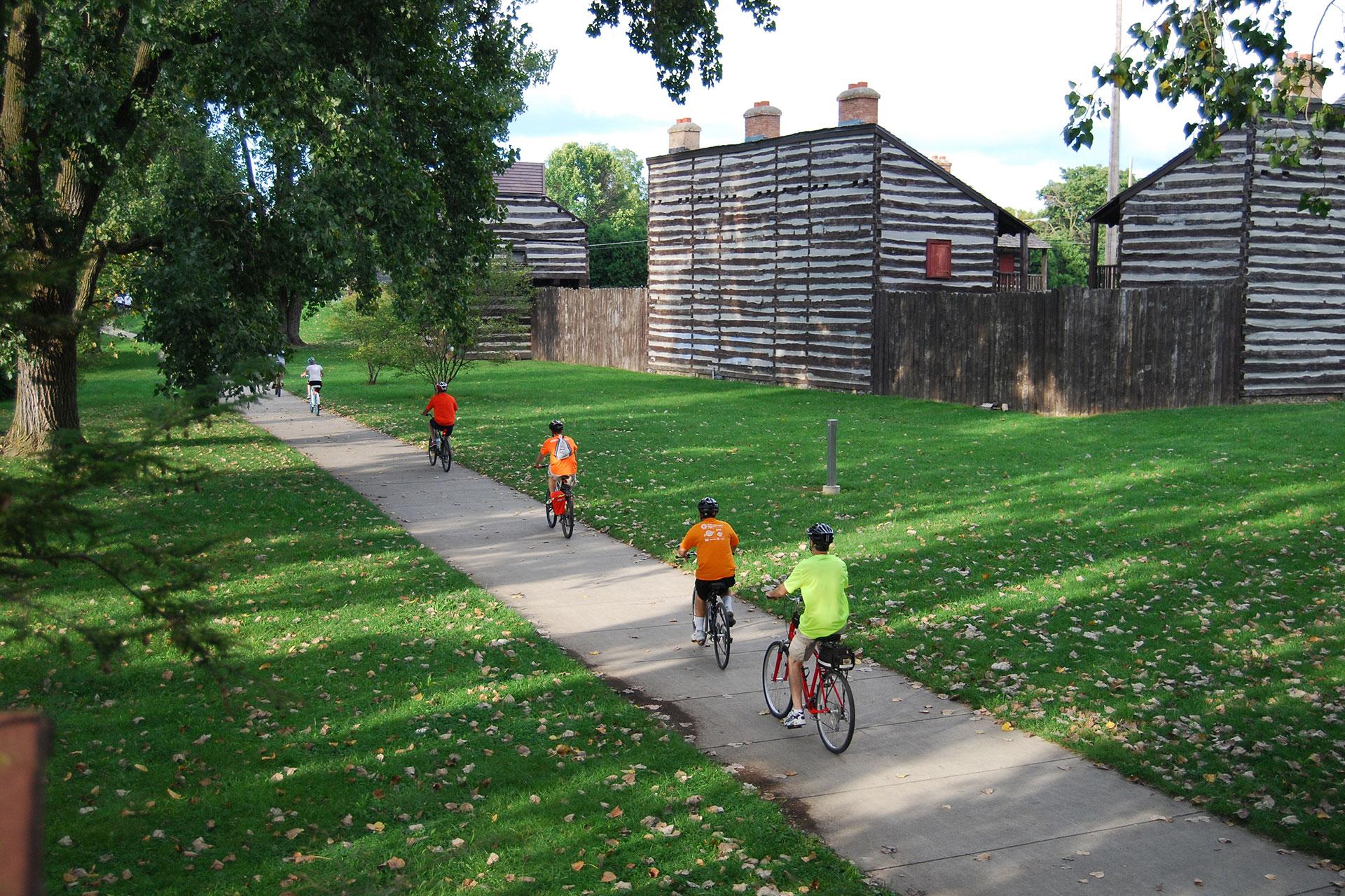 Biking in Fort Wayne