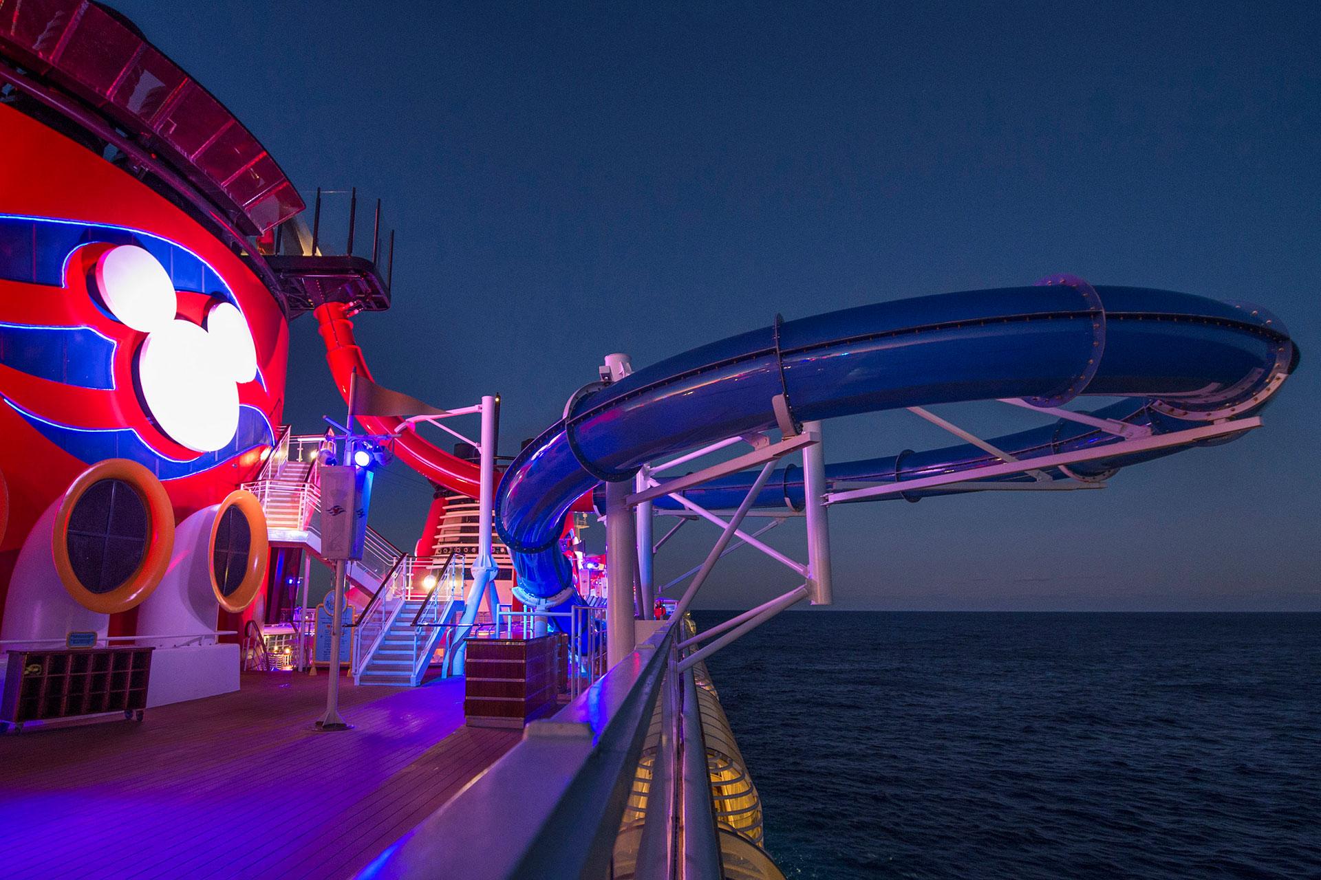 AquaDunk on Disney Cruise Line
