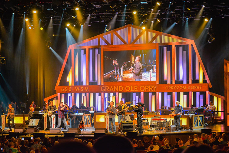 Concert at Grand Ole Opry in Nashville, TN
