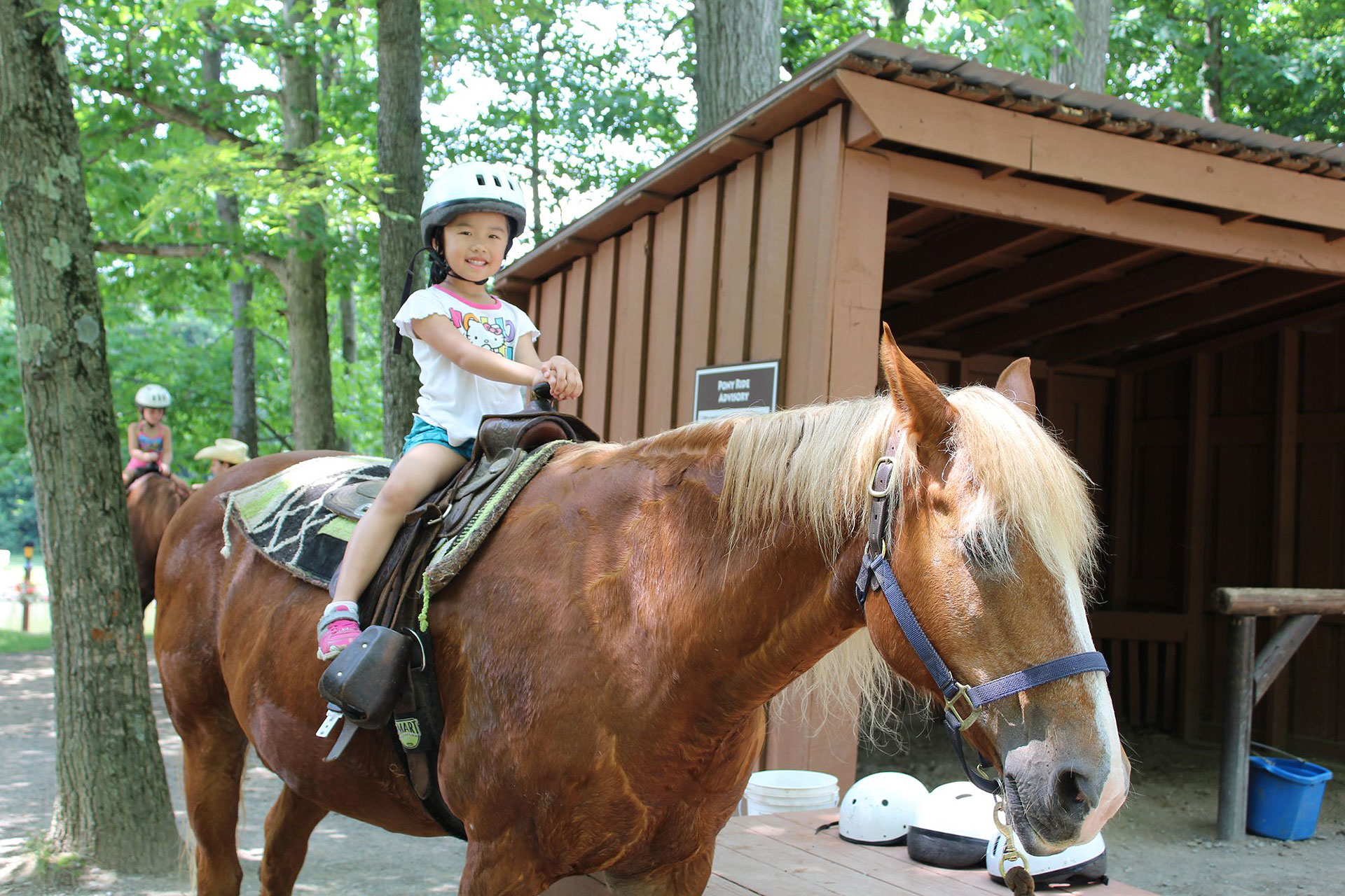 Horseback Riding at Rocking Horse Ranch in New York