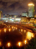 WaterFire in Providence, Rhode Island; Courtesy of WaterFire