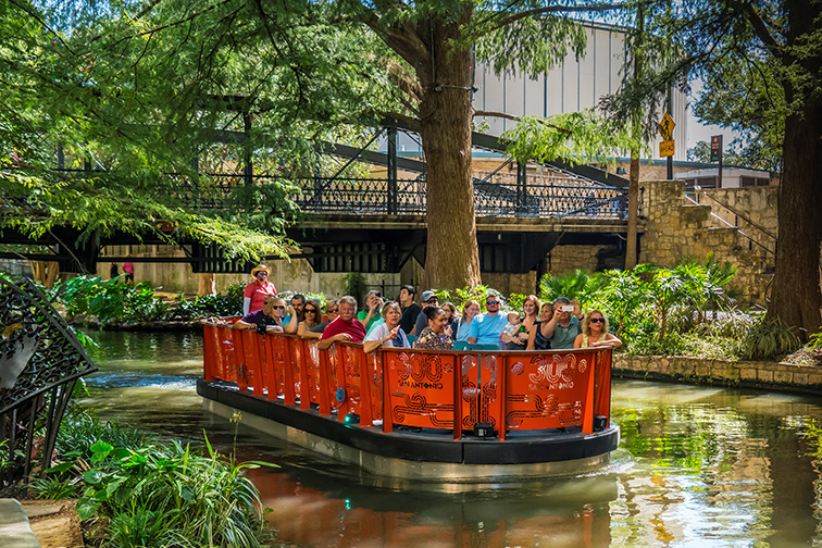 San Antonio River Boat Tour