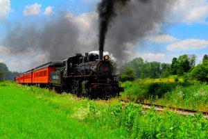 Arcade and Attica Railroad in New York